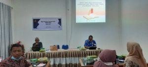 Rapat Finalisasi Penyusunan Kurikulum 2021 Jurusan Kimia FMIPA UNTAD